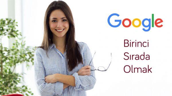 google 1. sıra